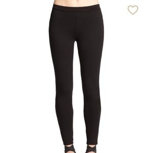 Joie herringbone stretch-pointe pants, Made in USA
